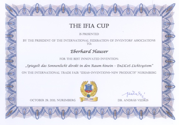 THE IFIA CUP